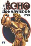 Cover for L'Écho des savanes (Editions du Fromage, 1972 series) #25
