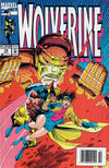Cover for Wolverine (Marvel, 1988 series) #74 [Newsstand Edition]