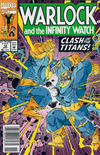Cover Thumbnail for Warlock and the Infinity Watch (1992 series) #10 [Newsstand]