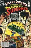 Cover for Secret Origins (DC, 1986 series) #1 [Canadian Newsstand]