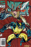Cover for Wolverine (Marvel, 1988 series) #76 [Newsstand Edition]