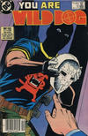 Cover for Wild Dog (DC, 1987 series) #4 [Canadian]