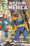 Cover for Captain America (Marvel, 1968 series) #293 [Newsstand Edition]
