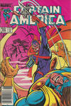 Cover for Captain America (Marvel, 1968 series) #294 [Newsstand Edition]