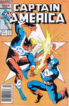 Cover Thumbnail for Captain America (1968 series) #327 [Newsstand]