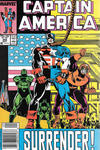 Cover for Captain America (Marvel, 1968 series) #345 [Newsstand]