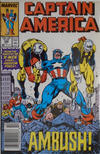 Cover Thumbnail for Captain America (1968 series) #346 [Newsstand]