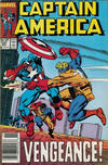 Cover for Captain America (Marvel, 1968 series) #347 [Newsstand]