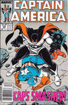 Cover for Captain America (Marvel, 1968 series) #348 [Newsstand]