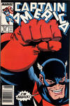 Cover Thumbnail for Captain America (1968 series) #354 [Newsstand]