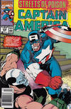 Cover for Captain America (Marvel, 1968 series) #378 [Newsstand]