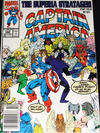 Cover for Captain America (Marvel, 1968 series) #390 [Newsstand Edition]