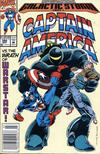 Cover for Captain America (Marvel, 1968 series) #398 [Newsstand Edition]