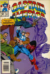 Cover for Captain America (Marvel, 1968 series) #424 [Newsstand]