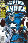 Cover for Captain America (Marvel, 1968 series) #425 [Foil Embossed Newsstand Edition]