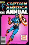 Cover for Captain America Annual (Marvel, 1971 series) #7 [Newsstand]