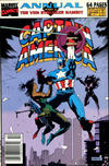 Cover for Captain America Annual (Marvel, 1971 series) #10 [Newsstand]