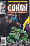 Cover Thumbnail for Conan the Barbarian (1970 series) #156 [Canadian Newsstand Edition]