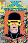 Cover for X-Factor (Marvel, 1986 series) #10 [Newsstand]