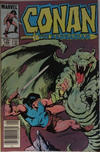 Cover for Conan the Barbarian (Marvel, 1970 series) #166 [Canadian Newsstand Edition]