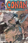 Cover for Conan the Barbarian (Marvel, 1970 series) #167 [Newsstand]