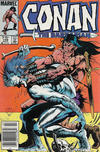 Cover for Conan the Barbarian (Marvel, 1970 series) #168 [Canadian Newsstand Edition]