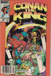 Cover Thumbnail for Conan the King (1984 series) #28 [Newsstand]