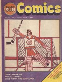 Cover Thumbnail for Sunday Sun Comics (Toronto Sun, 1977 series) #v1#17