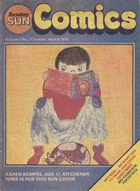 Cover Thumbnail for Sunday Sun Comics (Toronto Sun, 1977 series) #v1#21
