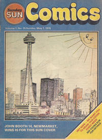Cover Thumbnail for Sunday Sun Comics (Toronto Sun, 1977 series) #v1#25