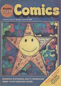 Cover Thumbnail for Sunday Sun Comics (Toronto Sun, 1977 series) #v1#31