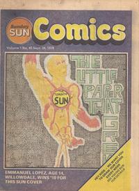 Cover Thumbnail for Sunday Sun Comics (Toronto Sun, 1977 series) #v1#45