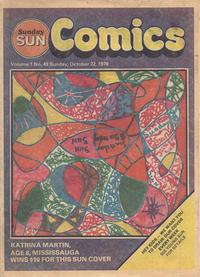 Cover Thumbnail for Sunday Sun Comics (Toronto Sun, 1977 series) #v1#49
