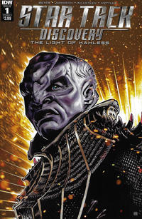 Cover Thumbnail for Star Trek: Discovery: The Light of Kahless (IDW, 2017 series) #1 [Cover A]