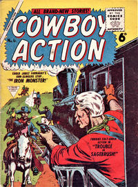 Cover Thumbnail for Cowboy Action (L. Miller & Son, 1956 series) #6
