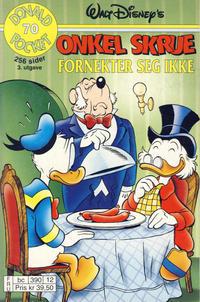 Cover Thumbnail for Donald Pocket (Hjemmet / Egmont, 1968 series) #70 - Onkel Skrue fornekter seg ikke! [3. utgave bc 390 12]