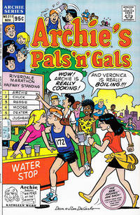 Cover Thumbnail for Archie's Pals 'n' Gals (Archie, 1952 series) #211 [Direct]