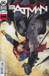 Cover Thumbnail for Batman (DC, 2016 series) #36 [Clay Mann]