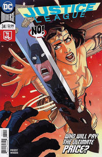 Cover Thumbnail for Justice League (DC, 2016 series) #34