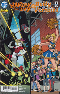 Cover Thumbnail for Harley & Ivy Meet Betty & Veronica (DC, 2017 series) #3 [Sandy Jarrell Cover]