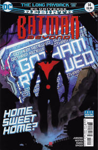 Cover for Batman Beyond (DC, 2016 series) #14 [Dave Johnson Cover]