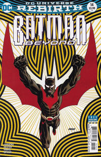 Cover Thumbnail for Batman Beyond (DC, 2016 series) #14 [Dave Johnson Cover]
