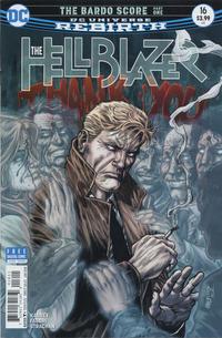Cover Thumbnail for Hellblazer (DC, 2016 series) #16 [Jesus Merino Cover]