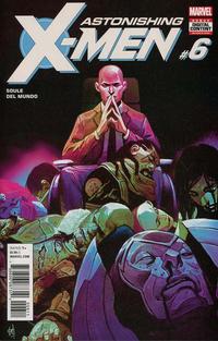 Cover Thumbnail for Astonishing X-Men (Marvel, 2017 series) #6 [Mike Del Mundo]