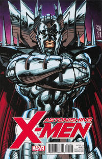 Cover Thumbnail for Astonishing X-Men (Marvel, 2017 series) #1 [Jim Lee 'X-Men Trading Card' (Stryfe)]