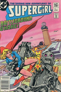 Cover Thumbnail for The Daring New Adventures of Supergirl (DC, 1982 series) #6 [Canadian]