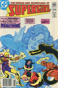 Cover Thumbnail for The Daring New Adventures of Supergirl (DC, 1982 series) #8 [Canadian]