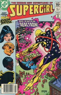 Cover Thumbnail for The Daring New Adventures of Supergirl (DC, 1982 series) #9 [Canadian]