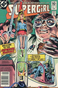 Cover Thumbnail for The Daring New Adventures of Supergirl (DC, 1982 series) #10 [Canadian]