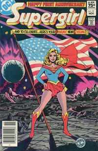 Cover Thumbnail for The Daring New Adventures of Supergirl (DC, 1982 series) #13 [Canadian]